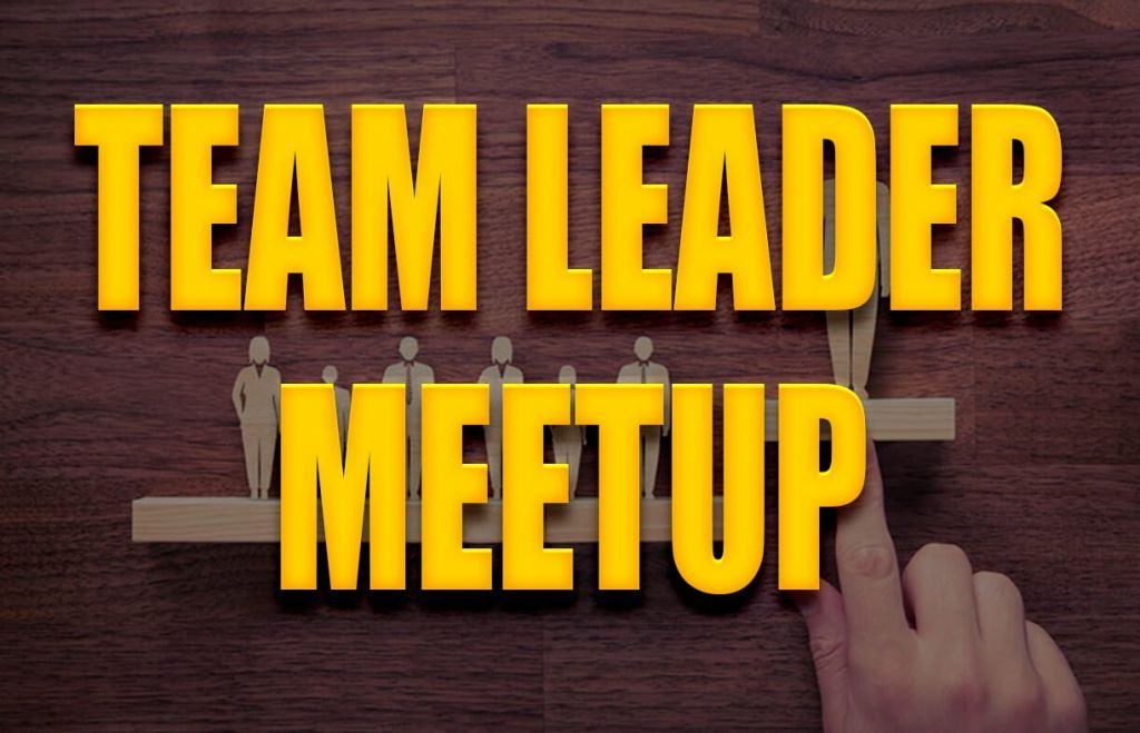 team leader meetup