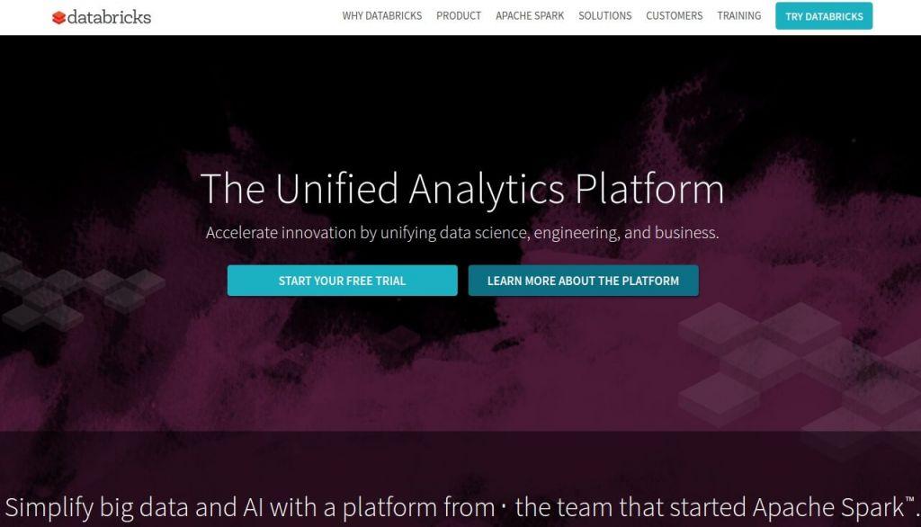 Платформа для аналитики больших данных Databricks привлекла $140 млн. инвестиций в раунде D