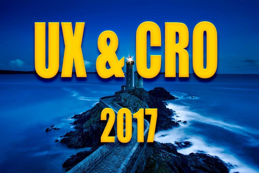 UX CRO 2017